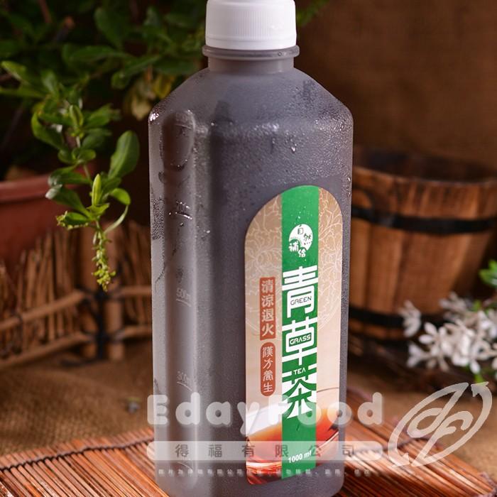得福【自然補給】漢方青草茶 6瓶 (1000ml/瓶)