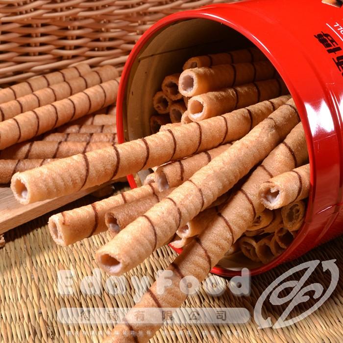 得福【黑師傅】咖啡/黑糖捲心酥 任選 12罐 (400g/罐)