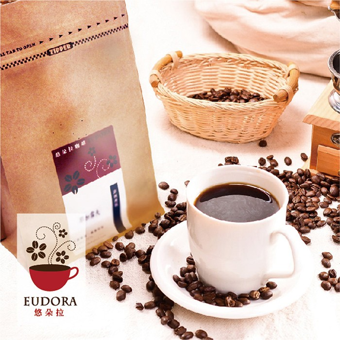 得福【悠朵拉】耶加雪夫咖啡豆 2包 (227g/半磅/包)