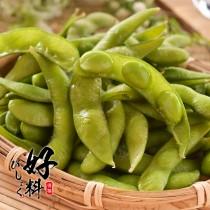 【好料】外銷等級-非基改鹽味毛豆 12包(300g/包)