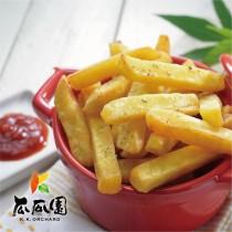 得福【瓜瓜園】人氣金黃地瓜番薯條 2包 (600g/包)