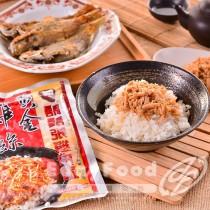 得福【鬍鬚張】黃金雞絲 1包 (300g/包)