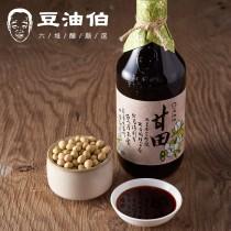 得福【豆油伯】甘田醬油 3瓶 (500ml/瓶)