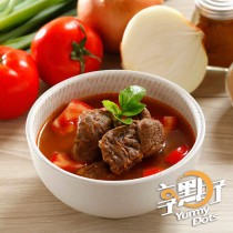 【享點子】紅燒牛肉湯/番茄牛肉湯 任選 10包(500g/包)