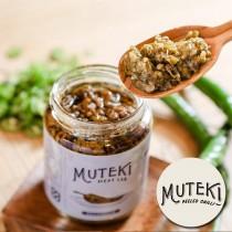 【MUTEKI】無敵秘製剝皮辣椒味噌醬 2罐(220g±10g/罐)