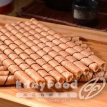 得福【黑師傅】巧克力/牛奶/草莓/花生捲心酥 任選 6罐 (400g/罐)