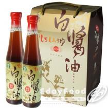 得福【西螺農會】日式白醬油 6瓶 (400ml/瓶)